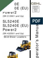 mustang skid steer 2054 service manual