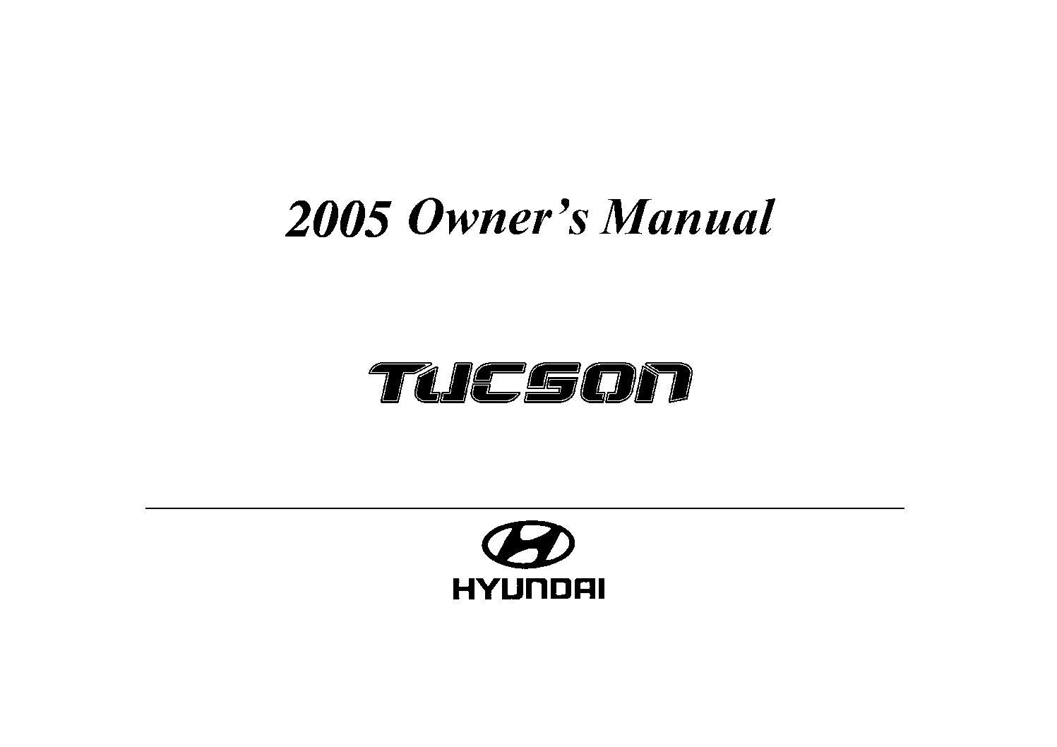 2008 hyundai tucson repair manual pdf