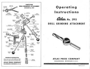 drill grinding attachment instructions
