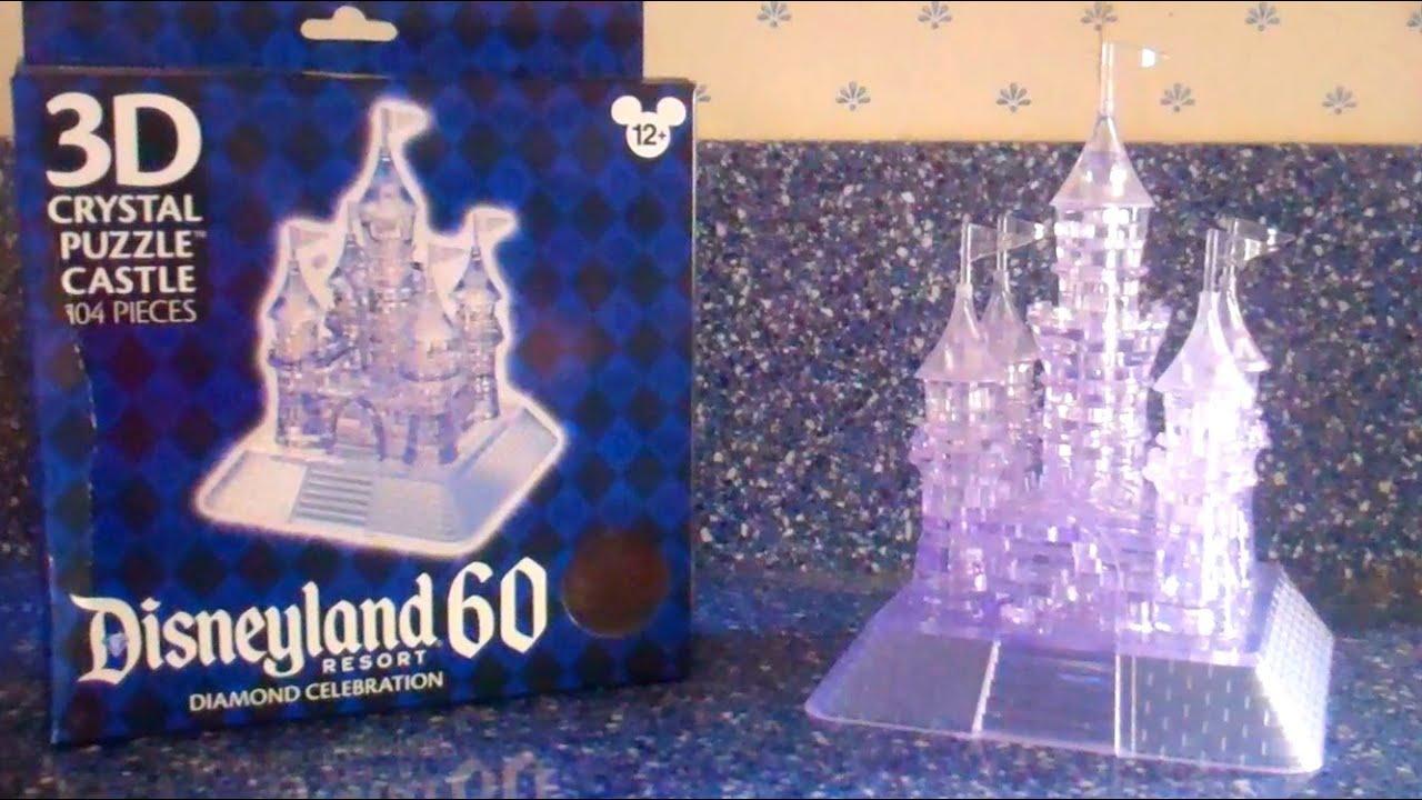 3d crystal puzzle castle instructions