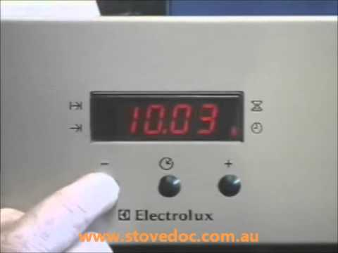 how to set clock on westinghouse oven 667