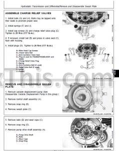 john deere f935 parts manual