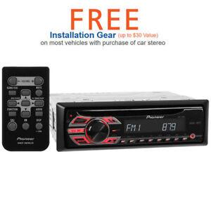 pioneer car stereo deh 150mp manual