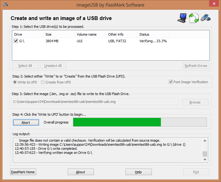 g ting flash drive instructions