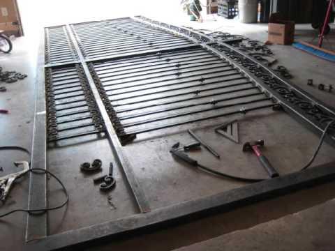 how to make metal gates