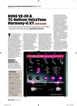 tc helicon harmony singer instructions