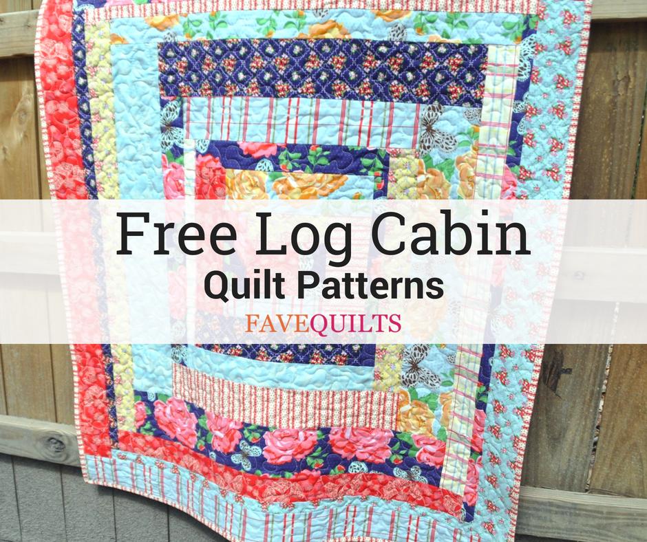 log cabin patchwork instructions