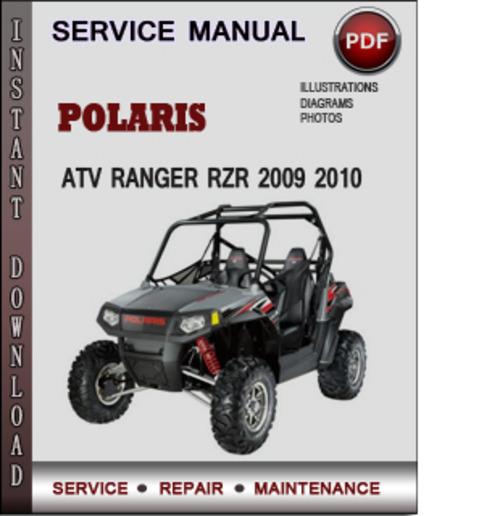 2009 polaris rzr 800 service manual pdf