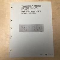 fisher ca-800 service manual