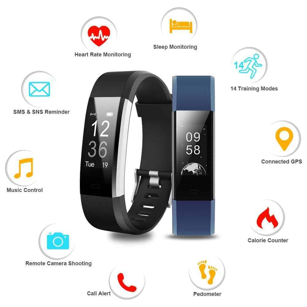 instructions for santek fitness band