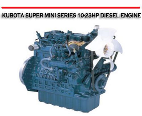 kubota 3 cylinder diesel engine manual