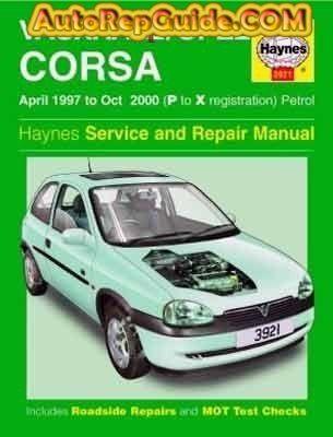 opel corsa lite workshop manual free download